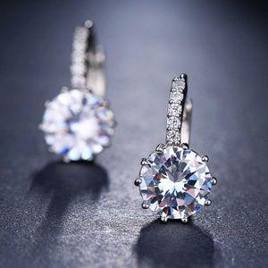Jewelry - Cubic Zirconia Dangle Earrings